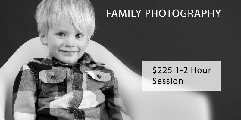 Family Rates - $225 1 to 2 Hours