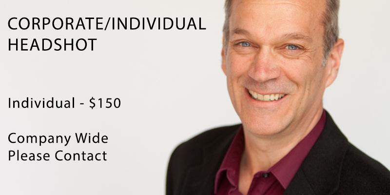 Headshots - Individual $150